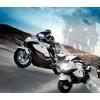 Детский электрический мотоцикл BMW K1300S Z283 (резиновые колеса)