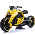 Детский мотоцикл Bugatti M010AA (резиновые колеса, кожа)