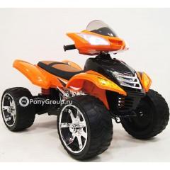 Детский электрический Квадроцикл E005KX (резиновые колеса, кожа)