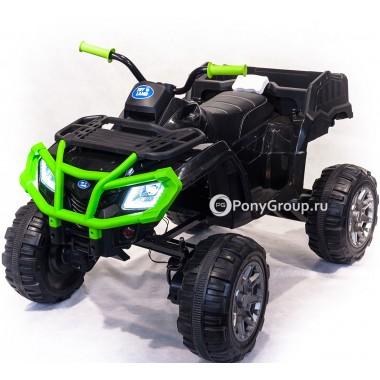 Детский электрический Квадроцикл 0909 Grizzly Next 4x4 (ПОЛНЫЙ ПРИВОД, резиновые колеса, кожа)