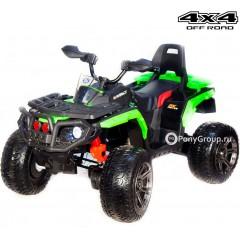 Детский квадроцикл T099MP BBH 3588 4x4 (ПОЛНЫЙ ПРИВОД, резиновые колеса, кожа)