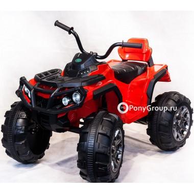 Детский квадроцикл BDM 0906 (с резиновыми колесами, кожаным сиденьем)