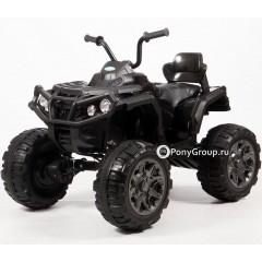 Детский электрический квадроцикл T001MP 4x4 (ПОЛНЫЙ ПРИВОД, резиновые колеса, кожа)