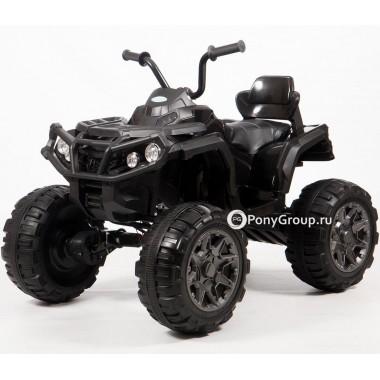 Детский квадроцикл Grizzly T001MP 4x4 (полноприводный 4WD с резиновыми колесами, кожаным сиденьем)