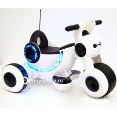 Детский электрический мотоцикл MOTO HL300 (резиновые колеса)