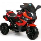 Детский мотоцикл MOTO M111AA (резиновые колеса, кожа)