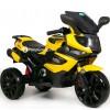 Детский мотоцикл MOTO M111AA (с резиновыми колесами, кожаным сиденьем)