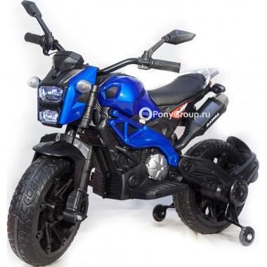 Детский мотоцикл MOTO SPORT DLS01 YEG2763 (с резиновыми колесами, кожаным сиденьем)