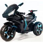 Детский мотоцикл Moto M777AA (резиновые колеса, кожа)