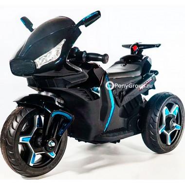Детский мотоцикл Moto M777AA (с резиновыми колесами, кожаным сиденьем)