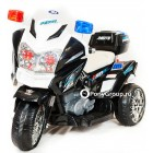 Детский электрический мотоцикл MOTO POLICE (кожа)