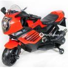 Детский мотоцикл MOTO SPORT LQ168 (резиновые колеса, кожа)