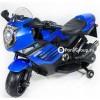 Детский электрический мотоцикл MOTO SPORT LQ168 (резиновые колеса, кожа)