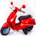 Детский электрический мотоцикл Vespa XMX 318 (кожа)