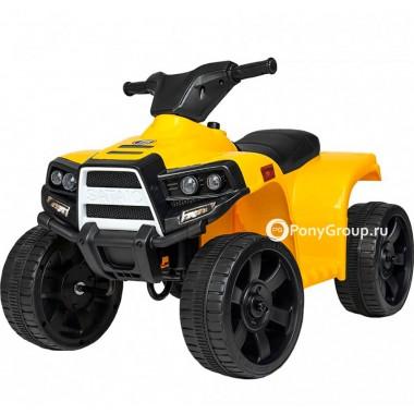Детский квадроцикл JC912 (с резиновыми колесами, кожаным сиденьем)