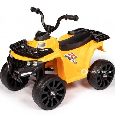 Детский квадроцикл O777MM (с резиновыми колесами, кожаным сиденьем)