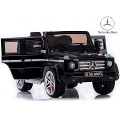 Электромобиль Mercedes G55 AMG LUXE (резиновые колеса, кожа)