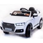 Детский электромобиль AUDI Q7 HL159 (резиновые колеса, кожа)