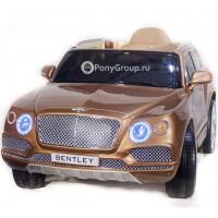 Детский электромобиль BENTLEY BENTAYGA JJ2158 (резиновые колеса, кожа)