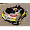 Детский электромобиль BMW O002OO VIP (с резиновыми колесами, кожаным сиденьем)