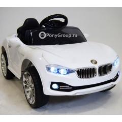 Детский электромобиль BMW O111OO (резиновые колеса, кожа)