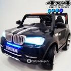 Детский электромобиль BMW T003MP 4x4 S9088 (ПОЛНЫЙ ПРИВОД, двухместный, кожа, резиновые колеса)