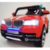 Детский электромобиль BMW T003MP 4x4 (ПОЛНЫЙ ПРИВОД, двухместный, кожа, резиновые колеса)