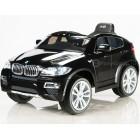 Детский электромобиль BMW X6 (кожаное сиденье)