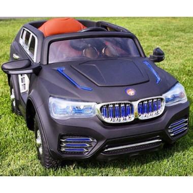 Детский электромобиль BMW X9 (надувные резиновые колеса, кожа)