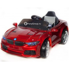 Детский электромобиль BMW 3 G BBH-718B (резиновые колеса, кожа)