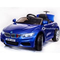 Детский электромобиль BMW 3 PB 807 (резиновые колеса, кожа)