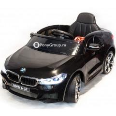 Детский электромобиль BMW 6 GT JJ2164 (резиновые колеса, кожа)