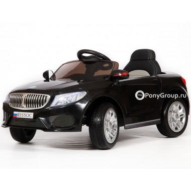 Детский электромобиль BMW Б555ОС (с резиновыми колесами, кожаным сиденьем)
