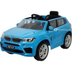 Детский электромобиль BMW X5M Z6661R (резиновые колеса, кожа)