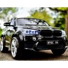Детский электромобиль BMW X6M JJ2168 (ДВУХМЕСТНЫЙ, резиновые колеса, кожа)