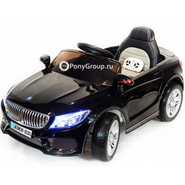 Детский электромобиль BMW XMX 835 (с резиновыми колесами, кожаным сиденьем)