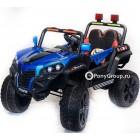 Детский электромобиль BUGGY 2018 4х4 (ПОЛНЫЙ ПРИВОД, кожа, резиновые колеса)