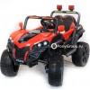 Детский электромобиль BUGGY 2018 4x4 (полноприводный 4WD с резиновыми колесами и кожаным сиденьем)