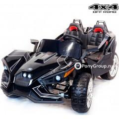 Детский электромобиль BUGGY JC888 4x4 (ПОЛНЫЙ ПРИВОД, ДВУХМЕСТНЫЙ, кожа, резиновые колеса)