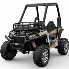 Детский электромобиль BUGGY JS370 (резиновые колеса, кожа)