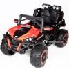 Детский электромобиль BUGGY T777MP 4x4 (полноприводный 4WD с монитором MP4, с резиновыми колесами и кожаным сиденьем)