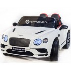 Детский электромобиль Bentley Continental Supersports JE1155 (резиновые колеса, кожа)