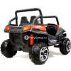 Детский электрический BUGGY T009TT 4x4 (ПОЛНЫЙ ПРИВОД, двухместный, кожа, резиновые колеса)