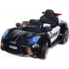 Детский электромобиль CH 9919A Police (резиновые колеса, кожа, громкоговоритель)
