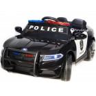 Детский электромобиль Dodge Police JC 666 (резиновые колеса, кожа, громкоговоритель)