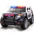 Детский электромобиль FORD EXPLORER POLICE CH 9935 (резиновые колеса, кожа, громкоговоритель, рация)