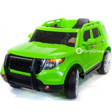 Детский электромобиль FORD EXPLORER CH 9936 (с резиновыми колесами, кожаным сиденьем)