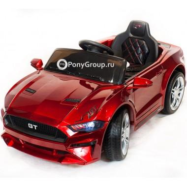 Детский электромобиль FORD GT LQ817A (с резиновыми колесами, кожаным сиденьем)