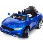 Детский электромобиль FORD MUSTANG RT560 (резиновые колеса, кожа)