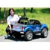 Детский электромобиль FORD RANGER F650 4x4 (МОНИТОР MP4, ПОЛНЫЙ ПРИВОД, двухместный, резиновые колеса, кожа)